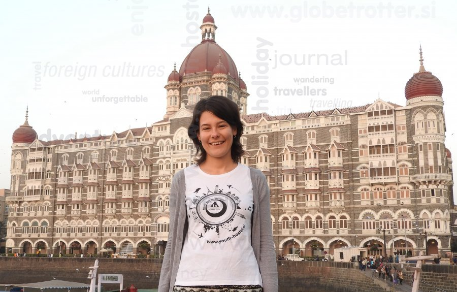 Taj Hotel, Mumbaj, Tina Skorjanc