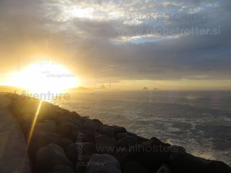 Sončni zahod na Novi Zelandiji - prvič, Joži Jerman