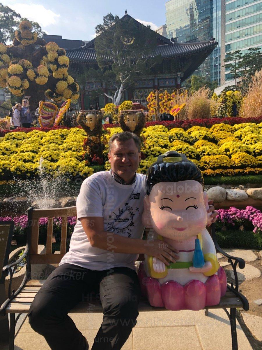 Med rožicami s Korejko, Miran Šinko