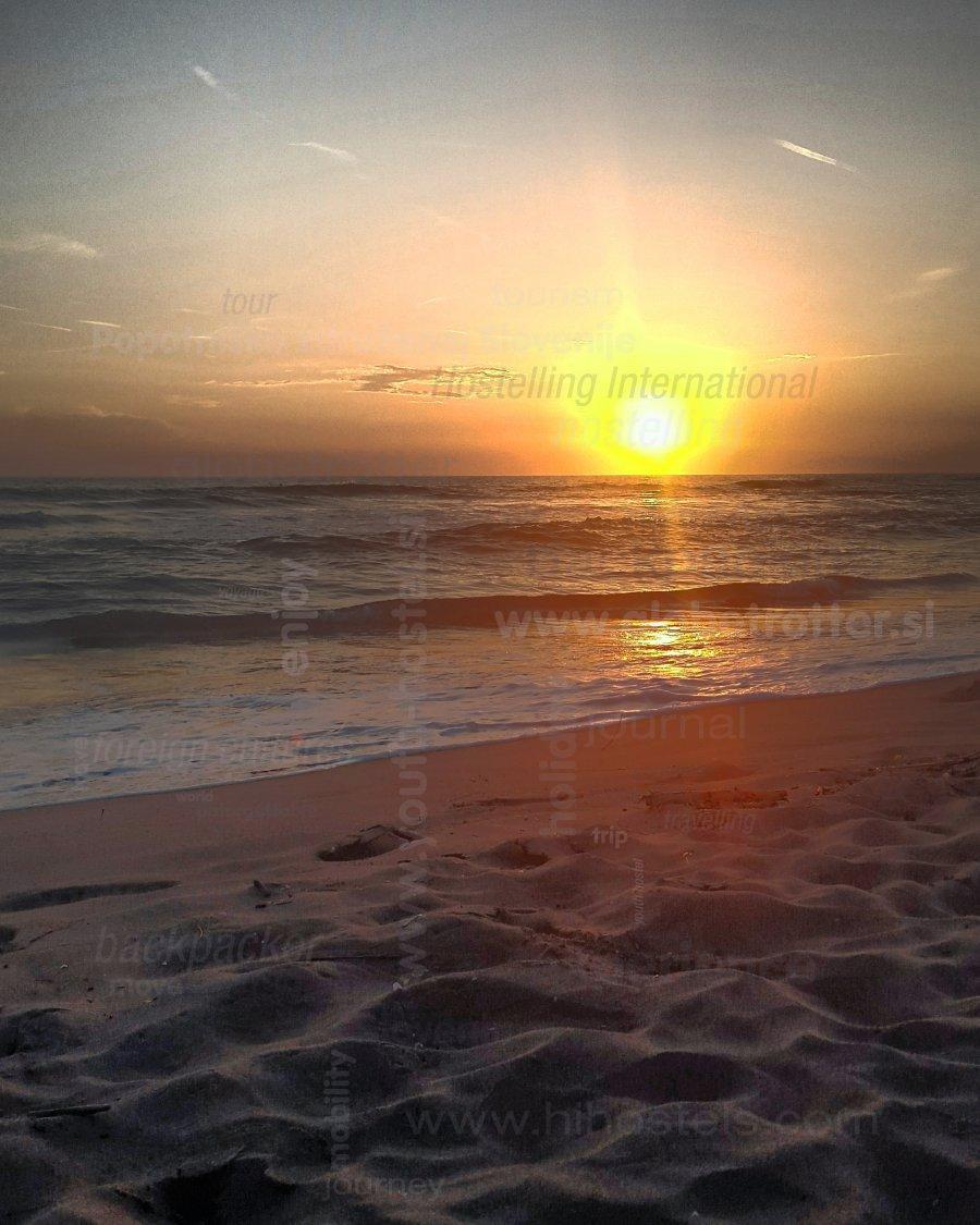 Sunset at the beach, mattia bordin