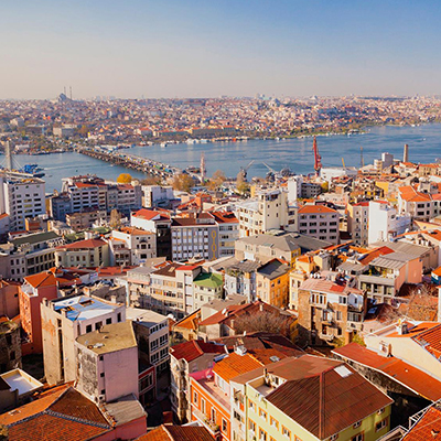 Slovenian heart in an embrace of Istanbul