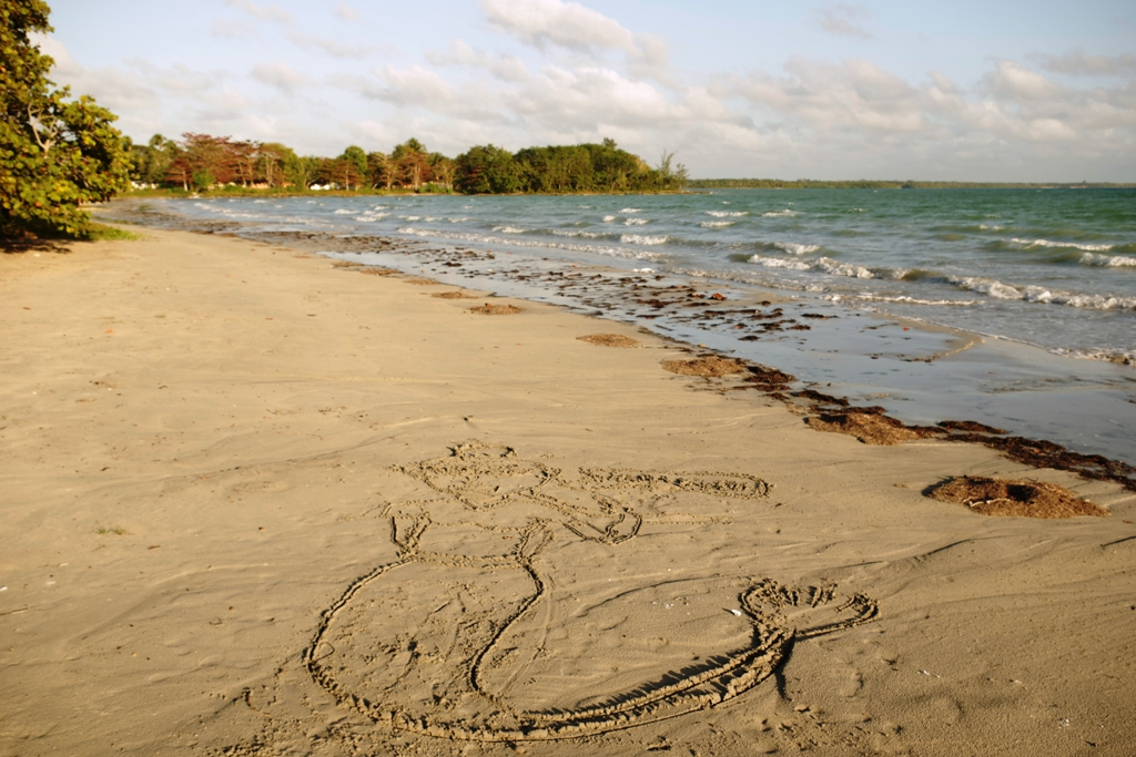 Potovanje_na_Kubo_-_Travel_to_Cuba_-__Beach_art_Playa_larga.JPG