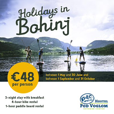 Holidays in Bohinj