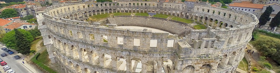 Arena in Pula - Croatia