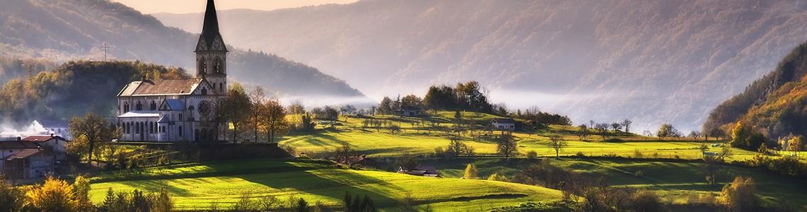 Kobarid, Drežnica - Slovenia